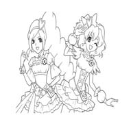 Pretty cure da colorare 3