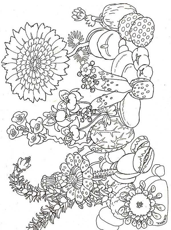 Primavera da colorare 91
