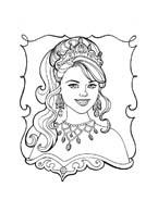 Principessa leonora da colorare 10