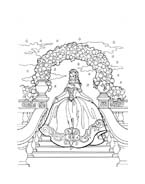 Principessa leonora da colorare 11