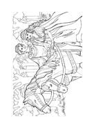 Principessa leonora da colorare 19