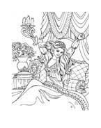 Principessa leonora da colorare 26