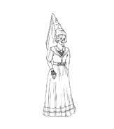 Principessa da colorare 8