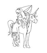 Principessa da colorare 17