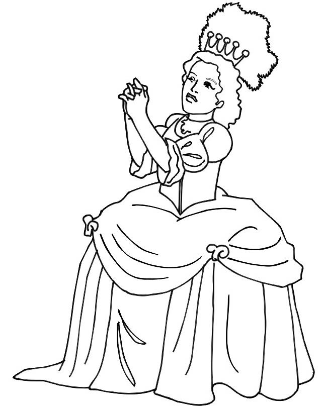 Principessa da colorare 29