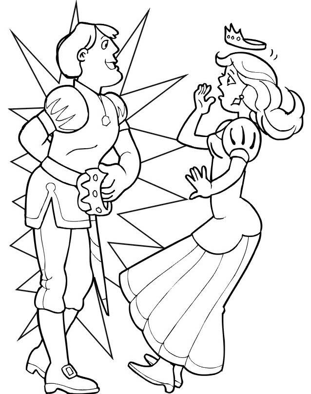 Principessa da colorare 36