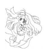 Principesse sirene da colorare 59
