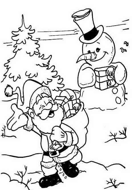 Natale 2 da colorare 367