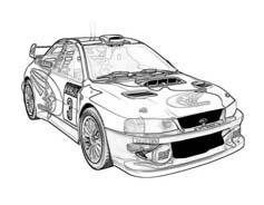 Automobile da colorare 384