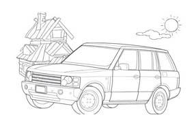 Automobile da colorare 385