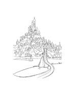 Rapunzel da colorare 38