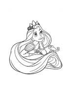 Rapunzel da colorare 67