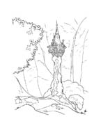 Rapunzel da colorare 71