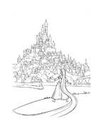 Rapunzel da colorare 82