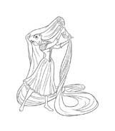 Rapunzel da colorare 88