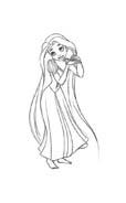 Rapunzel da colorare 96