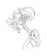 Rapunzel da colorare 98