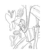 Rapunzel da colorare 131