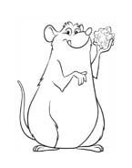 Ratatouille da colorare 28