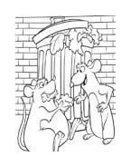 Ratatouille da colorare 34