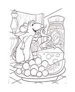 Ratatouille da colorare 51