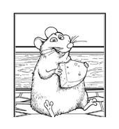Ratatouille da colorare 55
