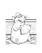 Ratatouille da colorare 81