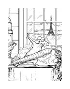 Ratatouille da colorare 110