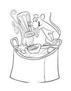 Ratatouille da colorare 119