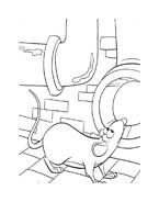Ratatouille da colorare 132