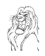 Il re leone da colorare 8