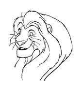 Il re leone da colorare 10