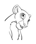 Il re leone da colorare 12