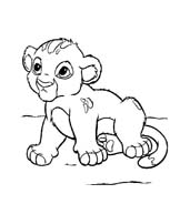 Il re leone da colorare 19