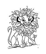 Il re leone da colorare 29