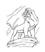 Il re leone da colorare 33