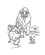 Il re leone da colorare 40