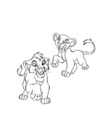 Il re leone da colorare 57