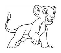 Il re leone da colorare 58