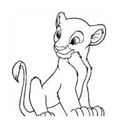 Il re leone da colorare 59