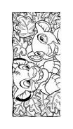 Il re leone da colorare 124