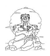 Il re leone da colorare 129
