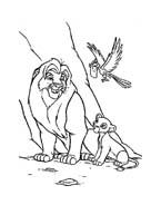 Il re leone da colorare 137
