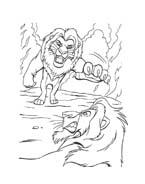 Il re leone da colorare 138