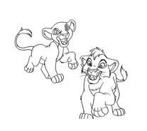 Il re leone da colorare 143