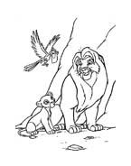 Il re leone da colorare 170