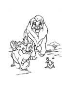 Il re leone da colorare 175