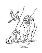 Il re leone da colorare 179
