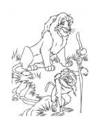 Il re leone da colorare 191