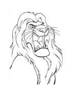 Il re leone da colorare 211